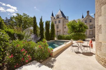 Chateau Les Carrasses in the Languedoc region of Southern France